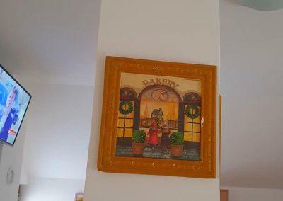 Dom za stare suncev breg - dekoracija